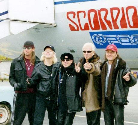 With The Scorpions